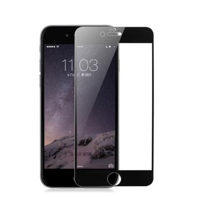Защитное стекло для iPhone 7/8 Черное (Закалённое, полное покрытие) купить