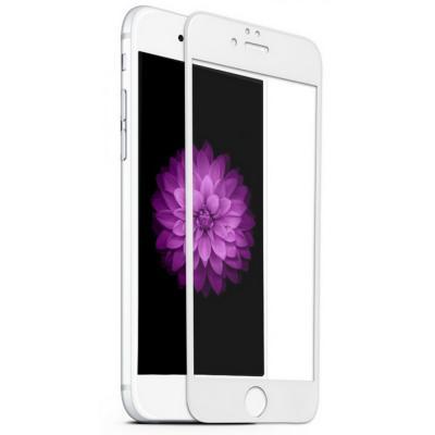 Защитное стекло для iPhone 6 Plus/6S Plus (Полное покрытие) Белое купить