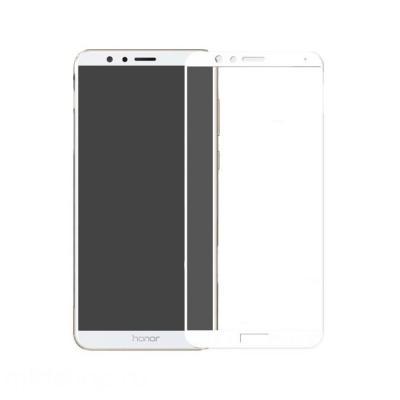 Защитное стекло для Huawei Honor 7X (Полное покрытие) Белое купить