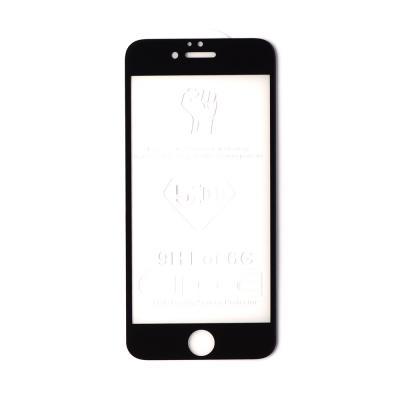 Защитное стекло для iPhone 6/6S Черное (Полное покрытие) купить