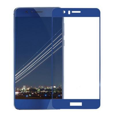 Защитное стекло для Huawei Honor 8 Lite (полное покрытие) Синее купить
