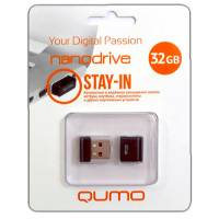Карта памяти USB 32 Gb Qumo Nanodrive (black)