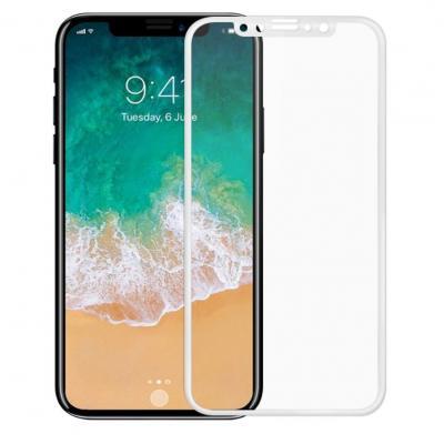 Защитное стекло для iPhone X (Полное покрытие) Белое купить