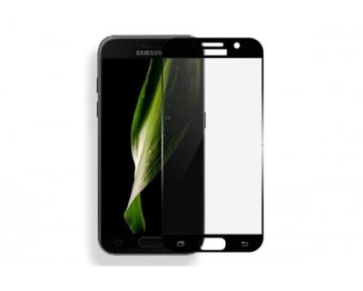 Защитное стекло для Samsung SM-A320F (A3 2017) (Полное покрытие) Черное купить