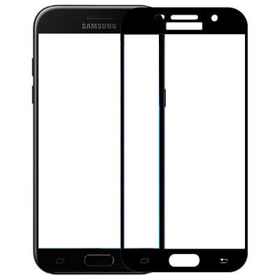 Защитное стекло для Samsung A520F (A5 2017) (Полное покрытие) Черное купить