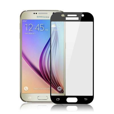 Защитное стекло для Samsung SM-A720F (A7 2017) (Полное покрытие) Черное купить