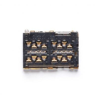 Коннектор SIM для Xiaomi Mi 4C/Mi 4i/Redmi Note 3 купить