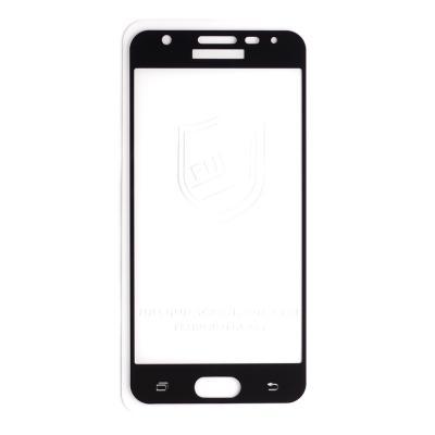 Защитное стекло (тех. упаковка) для Samsung G570F (J5 Prime) (Полное покрытие)Черное купить