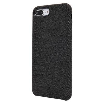 Чехол-накладка для Apple iPhone 7 Plus/8 Plus текстиль Черный купить