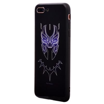 Чехол-накладка для Apple iPhone 7 Plus/8 Plus Luminous Логотип Черной Пантеры купить