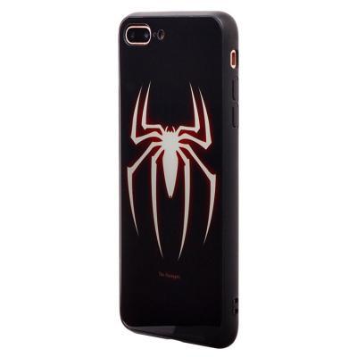 Чехол-накладка для Apple iPhone 7 Plus/8 Plus Luminous логотип Человек-Паук купить