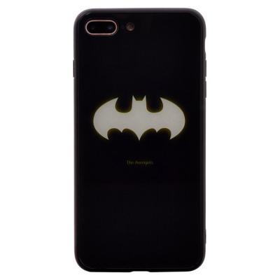 Чехол-накладка для Apple iPhone 7 Plus/8 Plus Luminous Логотип Бэтмен купить