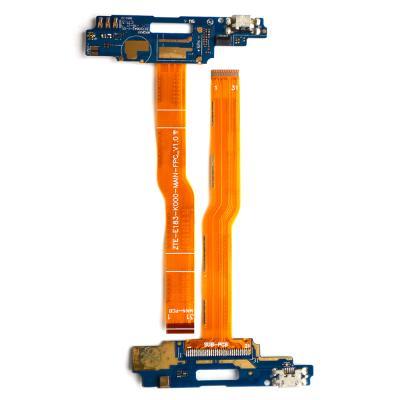 Шлейф для ZTE Blade A610/A610C плата на системный разъем/микрофон купить