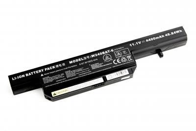 Аккумуляторная батарея для DNS Clevo W240 OR (11.1V 4400mAh) P/N: C5500BAT-4, 6-87-C550S-4PF купить
