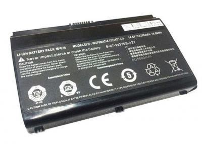Аккумуляторная батарея для DNS Clevo W370 OR (14.8V 5200mAh) P/N: 6-87-W370S-4271 купить