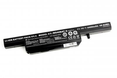 Аккумуляторная батарея для DNS Clevo W540 OR (11.1V 4400mAh) P/N: W540BAT-6, 6-87-W540S-427 купить