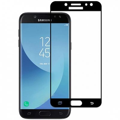 Защитное стекло для Samsung J530F (J5 2017) (Полное покрытие) Черное купить