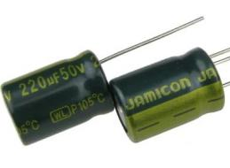 Конденсатор 50В 220мкФ JAMICON WL 10x16мм 105°C