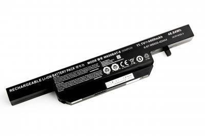 Аккумуляторная батарея для DNS Clevo W650 OR (11.1V 4400mAh) P/N: W650BAT-6, 6-87-W650S-4D4A1 купить