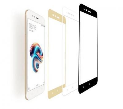 Защитное стекло для Xiaomi MI A1/Mi 5X (Полное покрытие) Белое купить