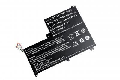 Аккумуляторная батарея для DNS Clevo W740 OR (11.1V 4800mAh) P/N: W740BAT-6, 6-87-W740S-42E купить