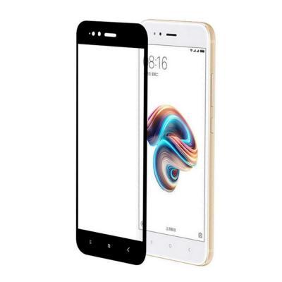 Защитное стекло для Xiaomi Mi A1/Mi 5X (Полное покрытие) Черное купить