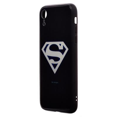 Чехол-накладка для Apple iPhone XR Luminous Логотип Супермен купить