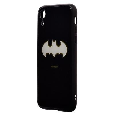 Чехол-накладка для Apple iPhone XR Luminous Логотип Бэтмен купить