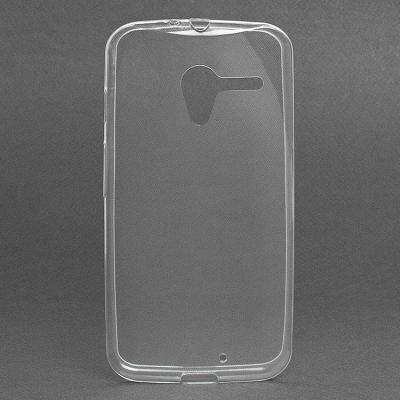 Чехол-накладка для Motorola Moto X XT1053 Прозрачный купить