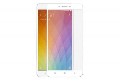 Защитное стекло для Xiaomi Redmi Note 4X (Полное покрытие) Белое купить