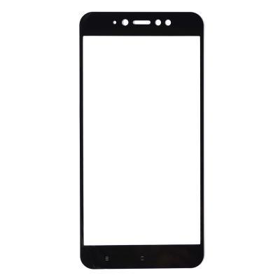 Защитное стекло (тех. упаковка) для Xiaomi Redmi Note 5A Prime (Полное покрытие) Черное купить