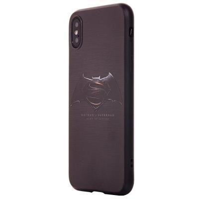 Чехол-накладка для Apple iPhone X/XS Логотип Бэтмена купить