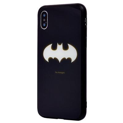 Чехол-накладка для Apple iPhone X/XS Luminous Логотип Бэтмена купить