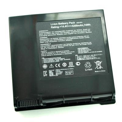 Аккумуляторная батарея для Asus G74 (14.4V 4400mAh) PN: A42-G74, LC42SD128 купить