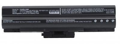 Аккумуляторная батарея для Sony VAIO VGP-BPS13 Черный (11.1V 4400mAh) купить