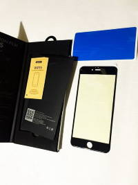 Защитное стекло REMAX 0.26mm Gener Anti Blue-ray 3D iPhone 6 Plus/iPhone 6s Plus чёрное